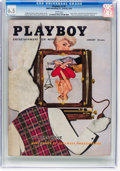 Magazines:Vintage, Playboy V3#1 (HMH Publishing, 1956) CGC FN+ 6.5 White pages....