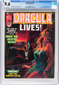 Magazines:Horror, Dracula Lives! #9 (Marvel, 1974) CGC NM+ 9.6 White pages....