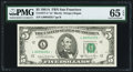 Small Size:Federal Reserve Notes, Fr. 1977-L* $5 1981A Federal Reserve Star Note. PMG Gem Uncirculated 65 EPQ.. ...