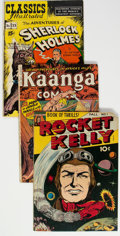 Golden Age (1938-1955):Miscellaneous, Golden Age Comics Group of 13 (Various Publishers, 1940s-50s) Condition: Average VG.... (Total: 13 Comic Books)