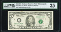 Small Size:Federal Reserve Notes, Fr. 1983-I $5 1993 Federal Reserve Note. PMG Very Fine 25.. ...