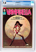 Magazines:Horror, Vampirella #1 (Warren, 1969) CGC FN/VF 7.0 Off-white pages....