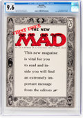 Magazines:Mad, MAD #24 (EC, 1955) CGC NM+ 9.6 Off-white to white pages....