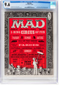 Magazines:Mad, MAD #29 (EC, 1956) CGC NM+ 9.6 White pages....