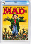 Magazines:Mad, MAD #43 (EC, 1958) CGC NM- 9.2 Off-white pages....