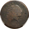 Large Cents, 1793 1C Chain, AMERICA, S-3, B-4, Low R.3, AG3 PCGS....