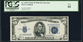 Small Size:Silver Certificates, Fr. 1653* $5 1934C Wide Silver Certificate Star. PCGS New 62.. ...