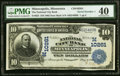 Minneapolis, MN - $10 1902 Date Back Fr. 623 The National City Bank Ch. # (M)10261 PMG Extremely Fine 4