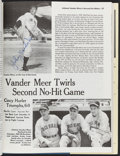 "Autographs:Others, ""Baseball's 50 Greatest Games"" Multi-Signed Book (7 Signat..."
