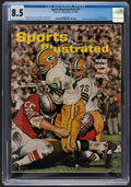 """Football Collectibles:Publications, 1962 Jim Taylor """"Rookie"""" Sports Illustrated - CGC 8.5, Pop One with None Higher...."""