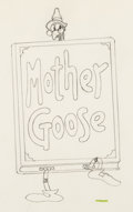 Animation Art:Production Drawing, Mother Goose Melodies Animation Draw...