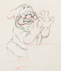 Animation Art:Production Drawing, Snow White and the Seven Dwarfs Doc ...