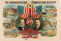 "McKinley & Roosevelt: One of the Classic Multicolored Poster Designs from the ""Golden Age"" of American..."