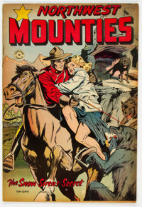 Approved Comics #12 (St. John, 1954) Condition: FN+
