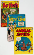 Golden Age (1938-1955):Miscellaneous, Comic Books - Assorted Golden to Silver Age Comics Group (Various Publishers, 1946-59).... (Total: 8 )