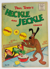 Heckle and Jeckle #23 (St. John, 1955) Condition: FN/VF