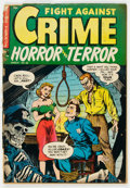 Golden Age (1938-1955):Crime, Fight Against Crime #18 (Story Comics, 1954) Condition: FR....