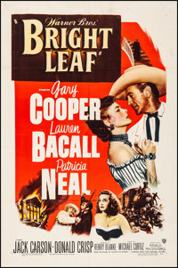 """Bright Leaf (Warner Brothers, 1950). Fine+ on European Linen. One Sheet (27"""" X 41""""). Drama. From the personal..."""