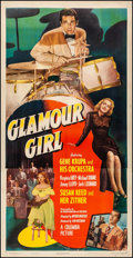 """Movie Posters:Musical, Glamour Girl (Columbia, 1947). Very Fine- on Linen. Three Sheet (41.5"""" X 80.5""""). Musical. From the personal collection of ..."""