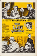 """Movie Posters:Hitchcock, The Lady Vanishes (United Artists, R-1952). Folded, Very Fine-. One Sheet (27"""" X 41""""). Hitchcock.. ..."""