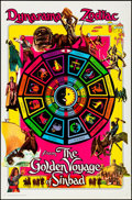 """Movie Posters:Fantasy, The Golden Voyage of Sinbad (Columbia, 1973). Rolled, Very Fine+. One Sheet (27"""" X 41"""") Zodiac Style. Fantasy.. ..."""