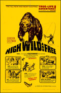 "Movie Posters:Documentary, High, Wild and Free & Other Lot (American International, 1968). Folded, Fine/Very Fine. One Sheet (27"" X 41"") & Silk Screen ... (Total: 3 Items)"