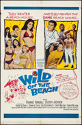 Movie Posters:Comedy, Wild on the Beach (20th Century Fox, 1965). Folded, Fine/V...