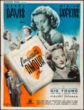 """Movie Posters:Drama, Old Acquaintance (Warner Brothers, 1946). Folded, Fine/Very Fine. French Moyenne (23.6"""" X 31.5"""") Vincent Cristellys Artwork...."""