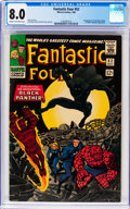 Silver Age (1956-1969):Superhero, Fantastic Four #52 (Marvel, 1966) CGC VF 8.0 Cream to off-white pages....