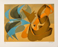 Prints & Multiples:Print, Jasha Green (1923-2006). Untitled 15, c. 1979. Lithograph in colors on Arches paper. 23-3/4 x 29-1/2 inches (60.3 x 74.9...