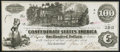 Confederate Notes:1862 Issues, T39 $100 1862 PF-2 Very Fine-Extremely Fine.. ...