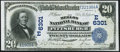National Bank Notes:Pennsylvania, Pittsburgh, PA - $20 1902 Date Back Fr. 642 The Mellon NB Ch. # (E)6301 Very Fine-Extremely Fine.. ...