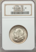 Commemorative Silver, 1936 50C Cleveland MS65 NGC. NGC Census: (2068/583). PCGS Population: (2419/801). CDN: $115 Whsle. Bid for problem-free NGC...