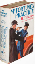 Books:Mystery & Detective Fiction, H. C. Bailey. Mr. Fortune's Practice.