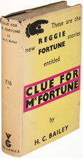 Books:Mystery & Detective Fiction, H. C. Bailey. Group of Two Reginald Fortune Books....