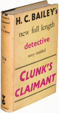 Books:Mystery & Detective Fiction, H. C. Bailey. Group of Three Gollancz Books. Londo...