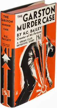 H. C. Bailey. Group of Three Crime Club Books. Garden City, NY: 1930, 1935, and 1936. First U. S. editions