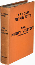 Books:Mystery & Detective Fiction, Arnold Bennett. The Night Visitor and Other Stories. London: 1931. First edition....