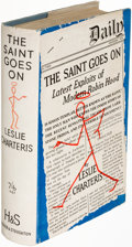 Books:Mystery & Detective Fiction, Leslie Charteris. The Saint Goes On. London: 1934. First edition....