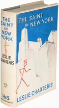 Books:Mystery & Detective Fiction, Leslie Charteris. The Saint in New York. London: 1935. First edition....
