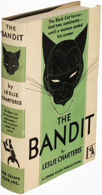 Leslie Charteris. The Bandit. Garden City: 1930. First U. S. edition