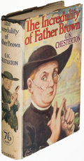 Books:Mystery & Detective Fiction, G. K. Chesterton. The Incredulity of Father ...