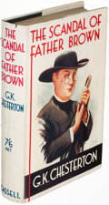 Books:Mystery & Detective Fiction, G. K. Chesterton. The Scandal of Father Brow...