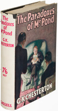 Books:Mystery & Detective Fiction, G. K. Chesterton. The Paradoxes of Mr. Pond....