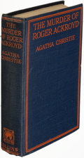 Books:Mystery & Detective Fiction, Agatha Christie. The Murder of Roger Ackroyd. London: 1926. First edition....