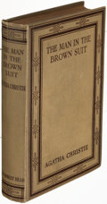 Books:Mystery & Detective Fiction, Agatha Christie. The Man in the Brown Suit. London: 1924. First edition....