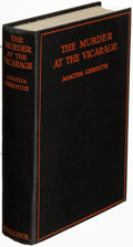Books:Mystery & Detective Fiction, Agatha Christie. The Murder at the Vicarage. London: 1930. First edition....