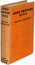 Books:Mystery & Detective Fiction, Agatha Christie. Lord Edgware Dies.
