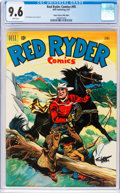 Golden Age (1938-1955):Western, Red Ryder Comics #95 Mile High Pedigree (Dell, 1951) CGC NM+ 9.6 White pages....