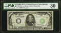 B Fr. 2212-G $1000 1934A Federal Reserve Note PMG Very Fine 30. /B /I